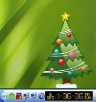 natal, árvore, desktop