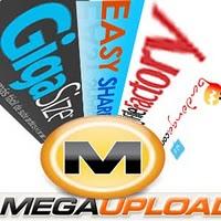 Megaupload, Badongo, FileFactory, EasyShare, GigaSize